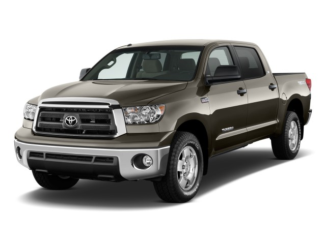 2011 Toyota Tundra Angular Front Exterior View