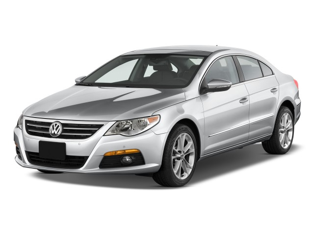 2011 Volkswagen CC 4-door Sedan Lux Angular Front Exterior View