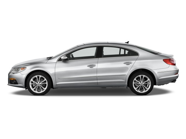 2011 Volkswagen CC 4-door Sedan Lux Side Exterior View