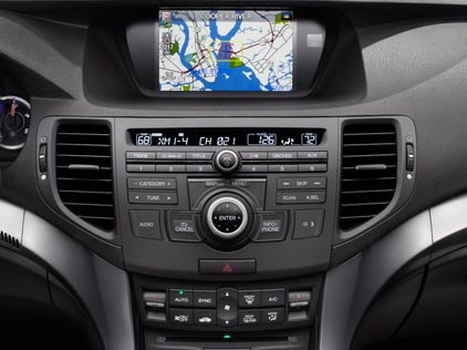 2012 family cars with the best navigation systems. Black Bedroom Furniture Sets. Home Design Ideas