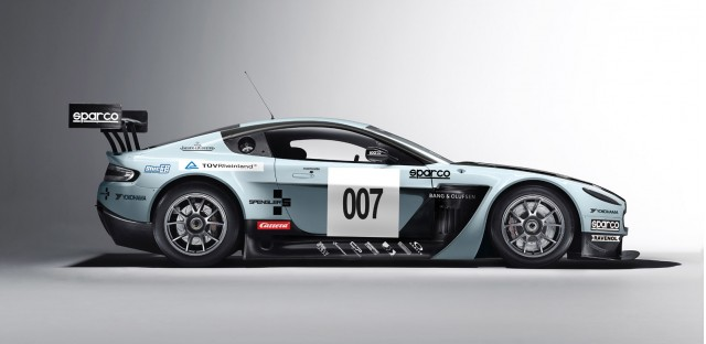 2012 Aston Martin V12 Vantage GT3 race car