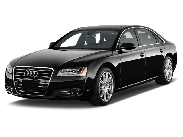 2012 Audi A8 L 4-door Sedan Angular Front Exterior View