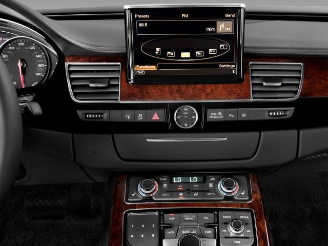 2012 Audi A8 L 4-door Sedan Audio System