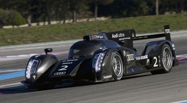 2012 Audi LMP1 race car
