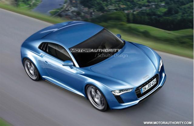 2012 Audi R4 rendering