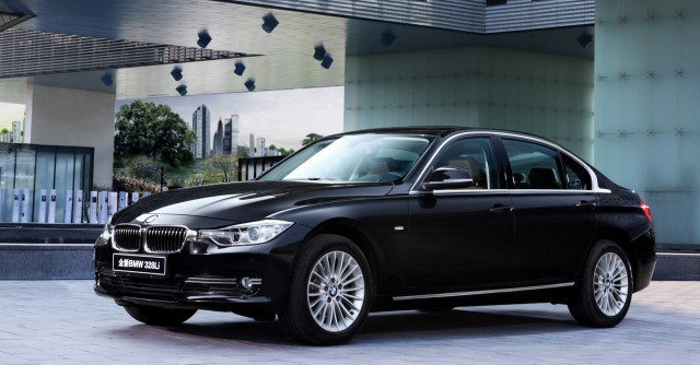 2012 BMW 3-Series long-wheelbase model