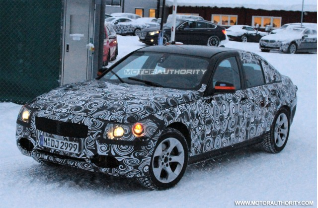 2012 BMW 3-Series spy shots