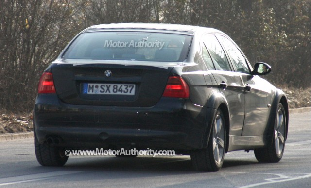 2012 bmw 3 series test mule spy shots january 008