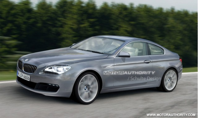 2012 BMW 6-Series Coupe rendering