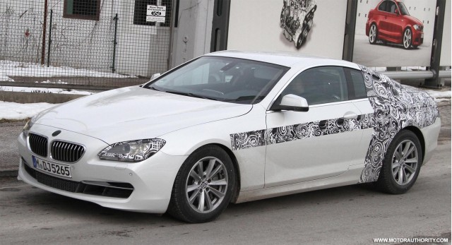 2012 BMW 6-Series Coupe spy shots