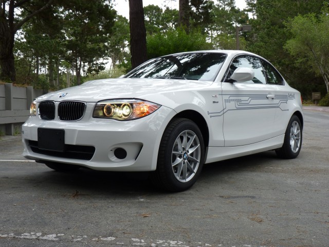 2012 BMW ActiveE  -  Driven in Monterey, February 2012