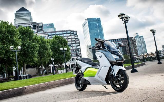 2012 BMW C evolution electric scooter prototype