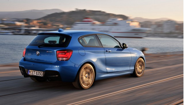 2012 BMW M135i Hatchback (three-door)