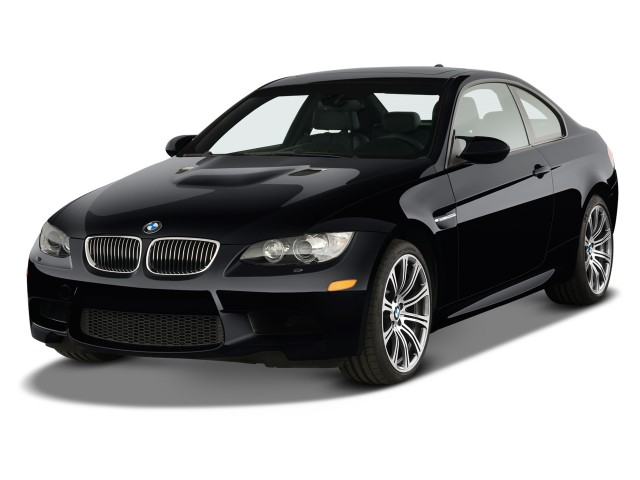 2012 BMW M3 2-door Coupe Angular Front Exterior View