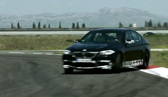 2012 BMW M5 testing