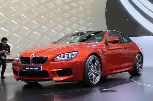 2012 BMW M6 live photos, 2012 Geneva Motor Show