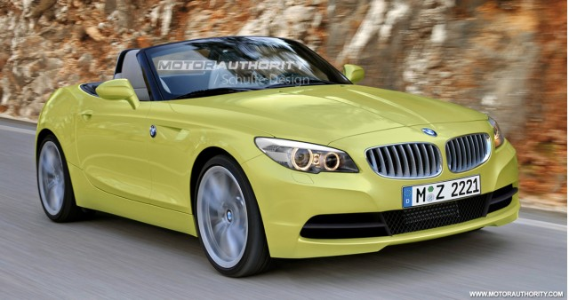 2012 bmw z2 roadster preview rendering 001
