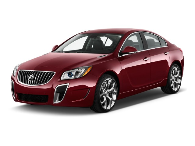 2012 Buick Regal 4-door Sedan GS Angular Front Exterior View