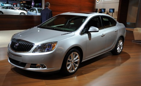 2012 Buick Verano live photos. Photo by Joe Nuxoll.
