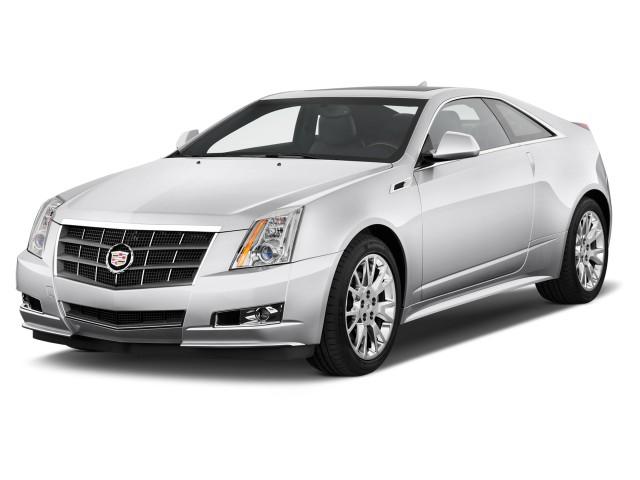 2012 Cadillac CTS 2-door Coupe Premium RWD Angular Front Exterior View