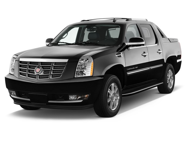 2012 Cadillac Escalade EXT AWD 4-door Base Angular Front Exterior View