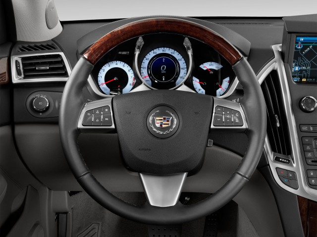 2012 Cadillac SRX FWD 4-door Performance Collection Steering Wheel
