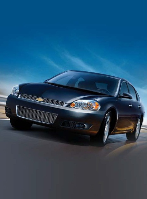 2012 Chevy Impala Gas Mileage Rated At 30 MPG Highway