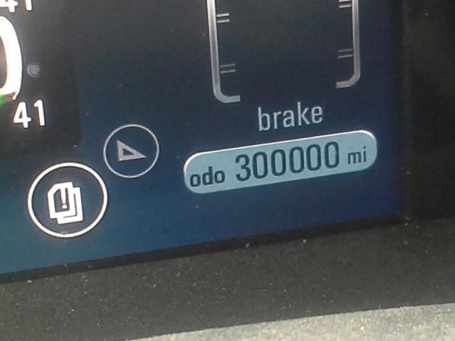 2012 Chevrolet Volt crosses 300,000 miles, March 2016 [photo: owner Erick Belmer]
