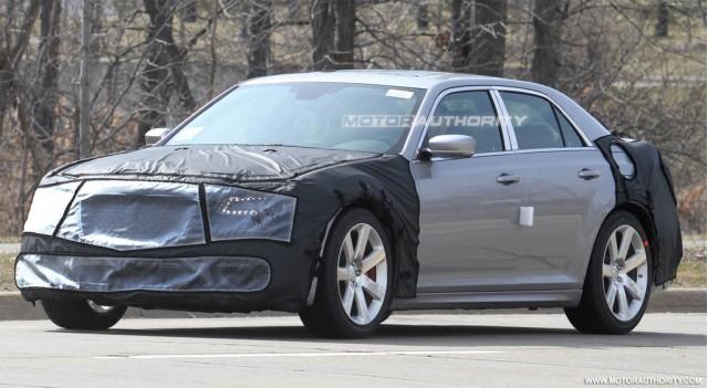 2012 Chrysler 300C SRT8 spy shots
