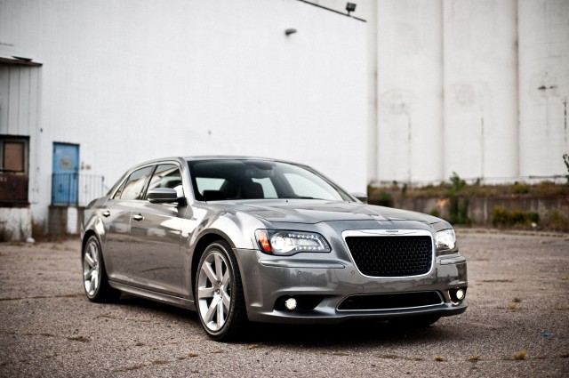 2012 Chrysler 300 SRT8. Photo by Alex Bellus