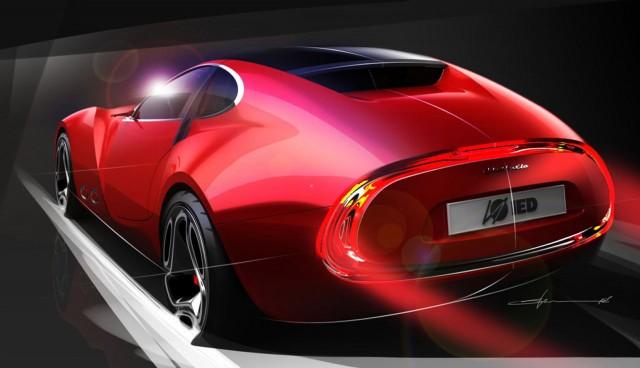 2012 Cisitalia 202 E Concept by European Institute of Design students