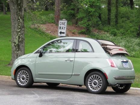 2012 Fiat 500C Cabrio, Vanderbilt Mansion, Hyde Park, NY