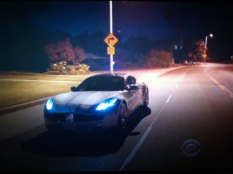 2012 Fisker Karma on Two and a Half Men