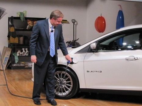 2012 Ford Focus Electric launch, New York City, January 2011 - Bill Ford Jr.