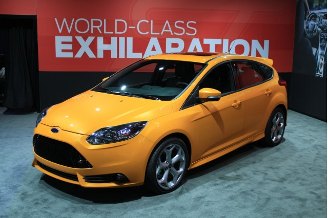 2012 Ford Focus ST live photos