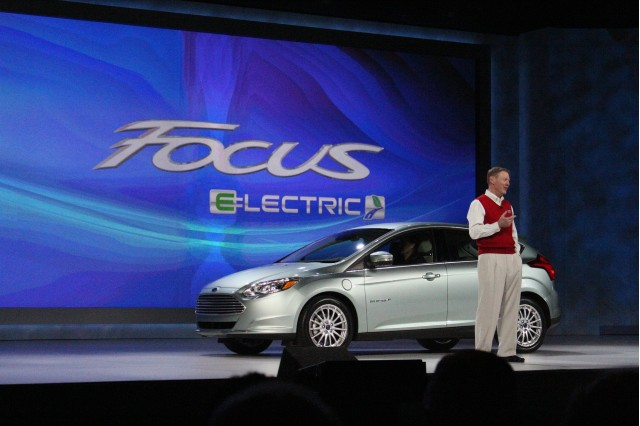 2012 Ford Focus Electric live photos