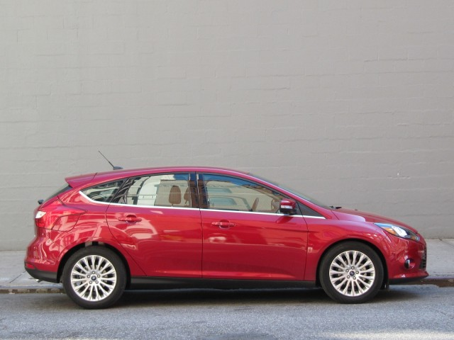 2012 ford focus titanium hatchback new york july 2011. Cars Review. Best American Auto & Cars Review