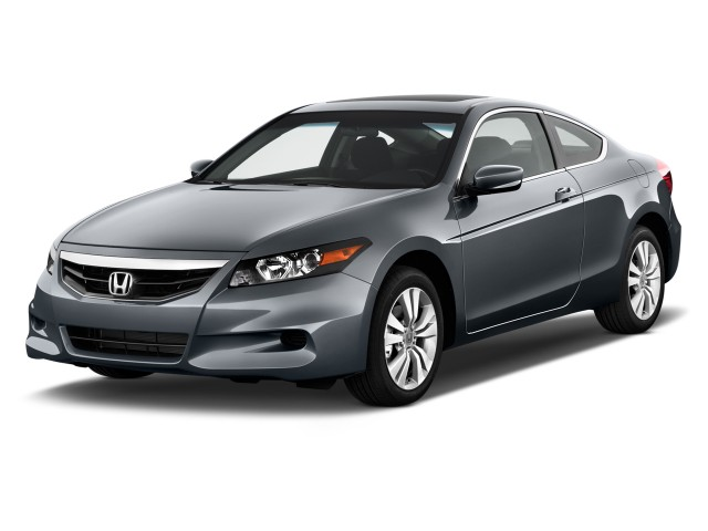 2012 Honda Accord Coupe 2-door I4 Auto EX Angular Front Exterior View