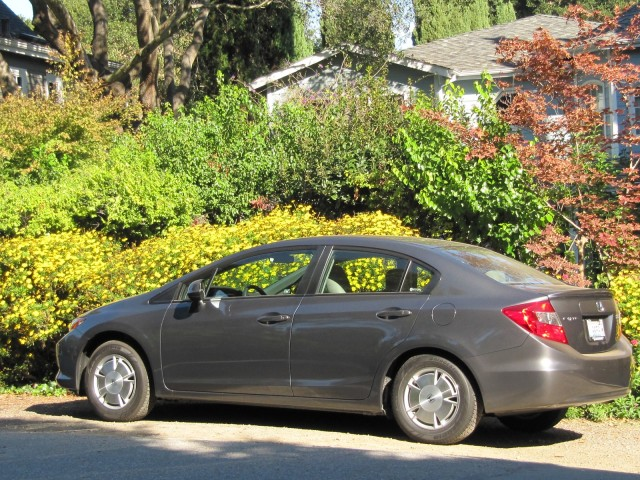2012 Honda Civic HF, Palo Alto, California, October 2011