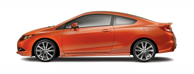 2012 Honda Civic Si with HFP package