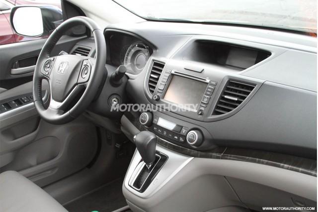 2012 Honda CR-V spy shots