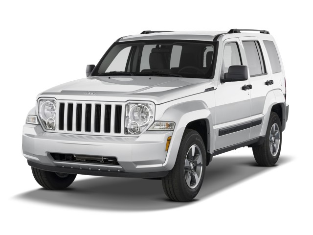 2012 Jeep Liberty RWD 4-door Sport Angular Front Exterior View