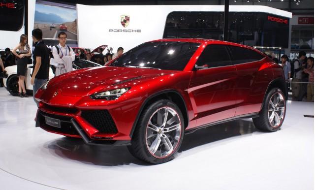 2012 Lamborghini Urus SUV concept live photos