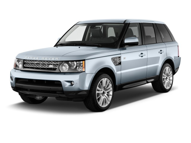 2012 Land Rover Range Rover Sport Angular Front Exterior View