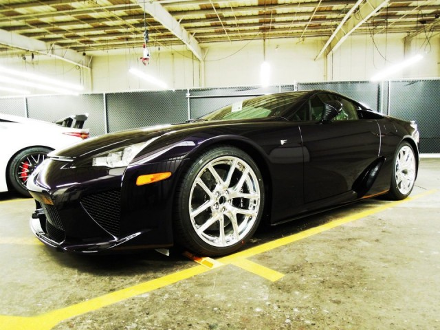 2012 Lexus LFA in Black Amethyst