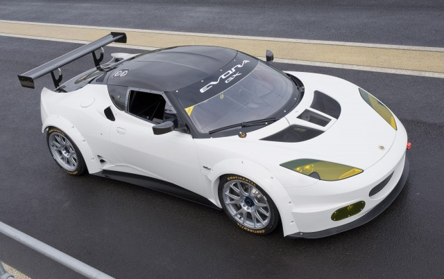 2012 Lotus Evora GX Grand-Am race car