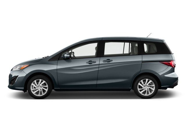 2012 Mazda MAZDA5 4-door Wagon Auto Sport Side Exterior View