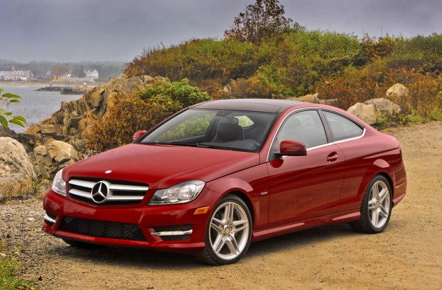 2012 Mercedes-Benz C250 Coupe. Image: Mercedes-Benz