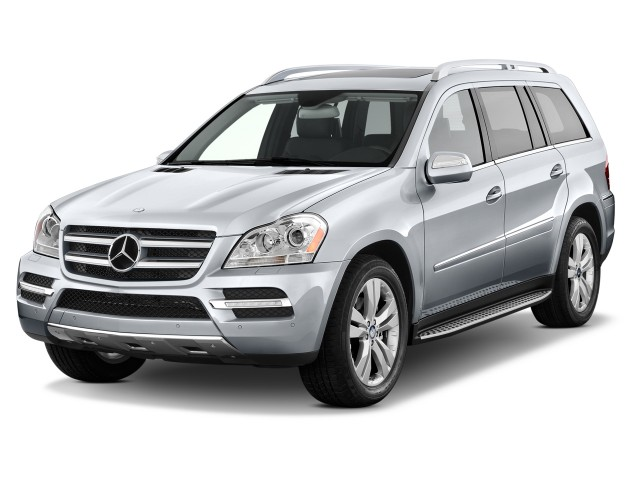 2012 Mercedes-Benz GL Class 4MATIC 4-door 4.6L Angular Front Exterior View