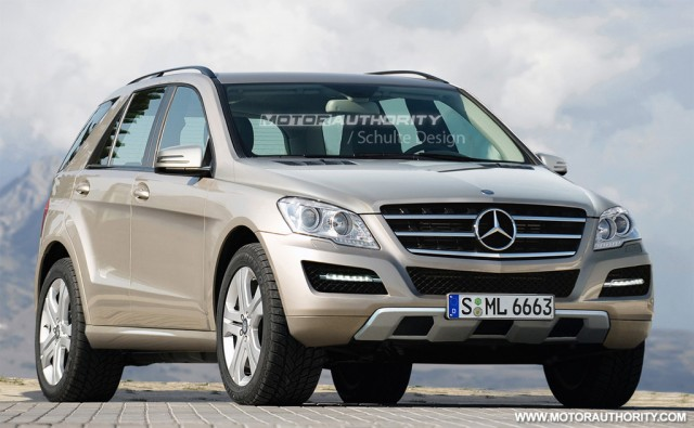 2012 Mercedes-Benz ML-Class rendering